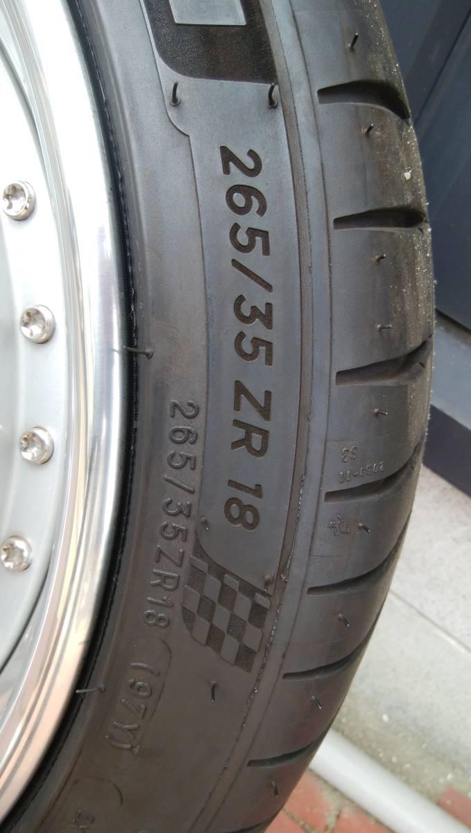☆ポルシェ996に装着 HREパフォーマンスホイル タイヤセット 225/40R18 265/35R18☆_画像7
