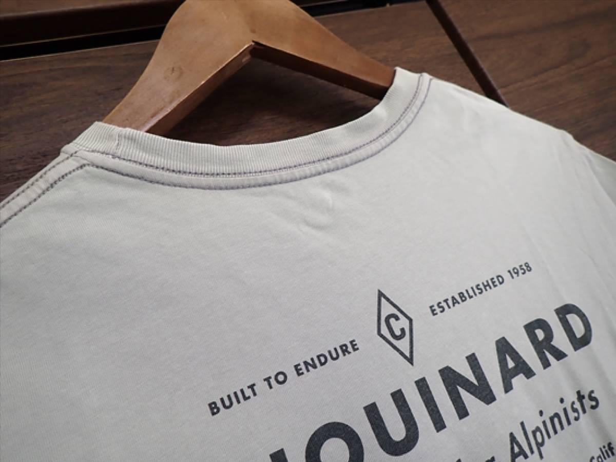 【パタゴニア patagonia】CHOUINARDメンズTシャツsize(XS)オーガニックコットン100%☆ビンテージ品・USA☆_画像5