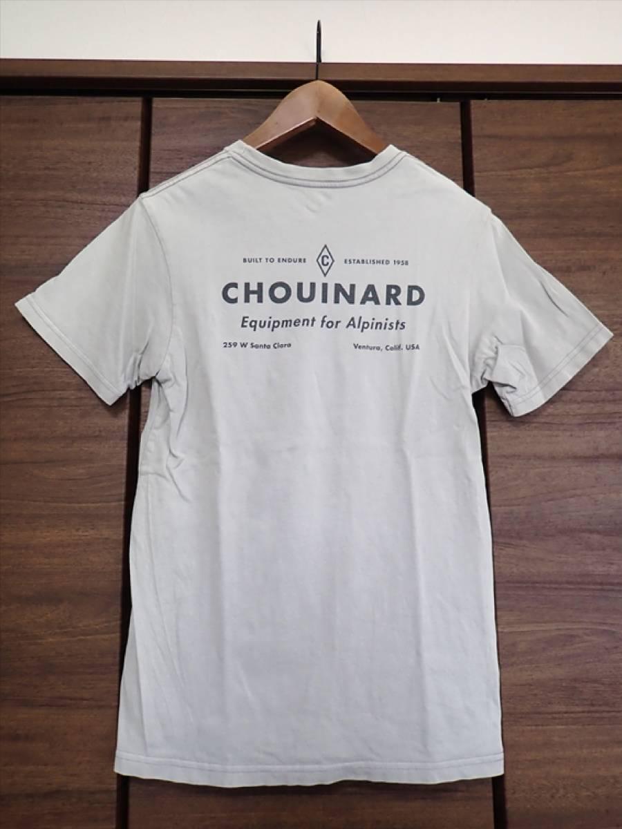 【パタゴニア patagonia】CHOUINARDメンズTシャツsize(XS)オーガニックコットン100%☆ビンテージ品・USA☆