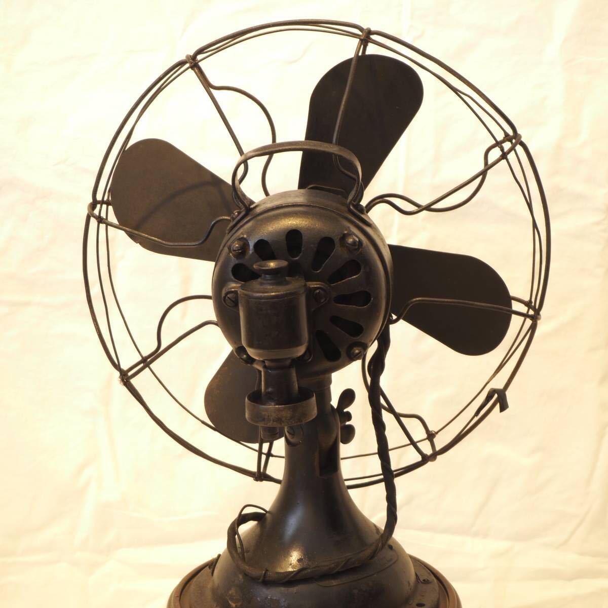 オブジェ等に!貴重な芝浦製 レトロな扇風機 ビンテージ品!即決送料無料!_画像2