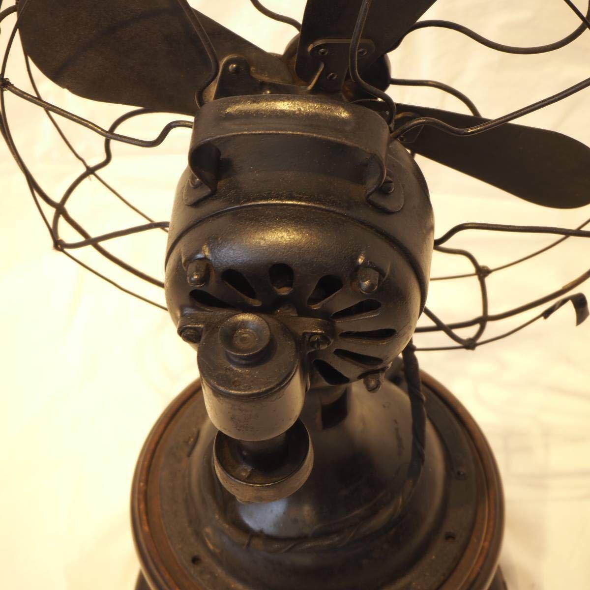 オブジェ等に!貴重な芝浦製 レトロな扇風機 ビンテージ品!即決送料無料!_画像3