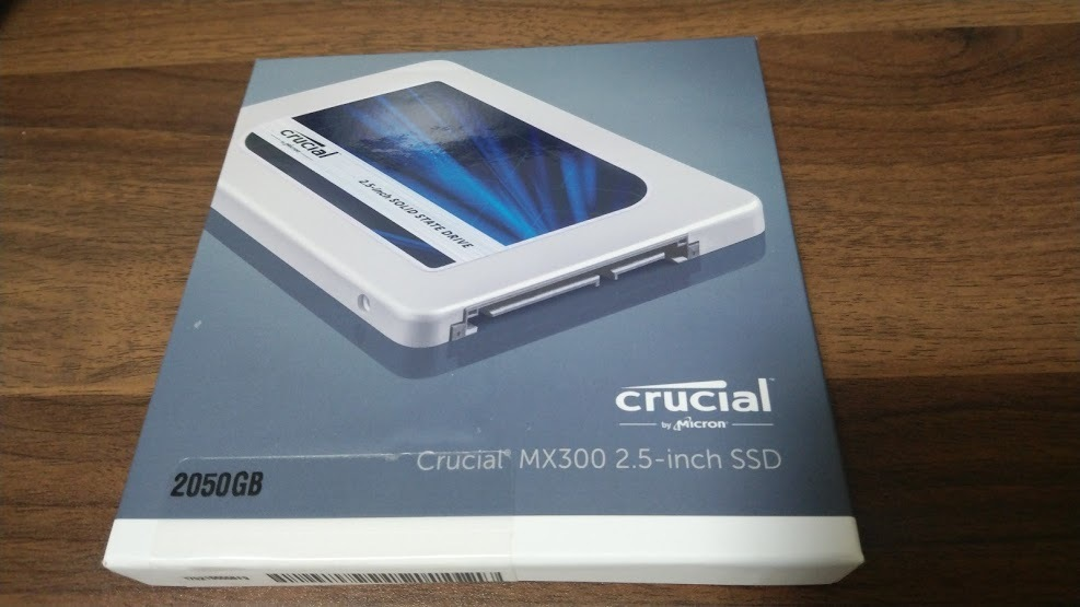 ■Crucial Micron SSD 2TB 2050GB 並行輸入品 未使用品■