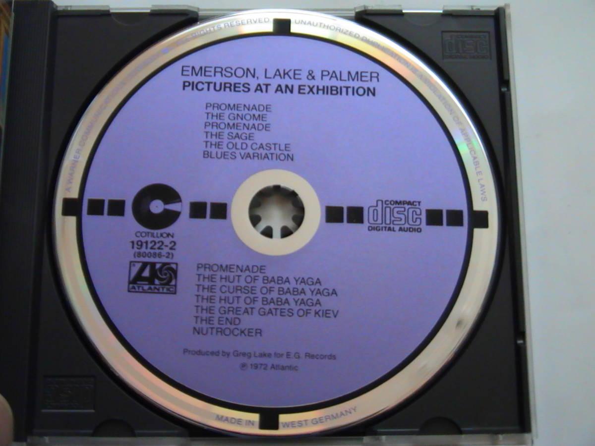【金シール帯】エマーソン レイク&パーマー E,L&P / 展覧会の絵 税表記無3800円金シール帯付 38XP-21 ターゲットレーベル(紫+黒)_画像4