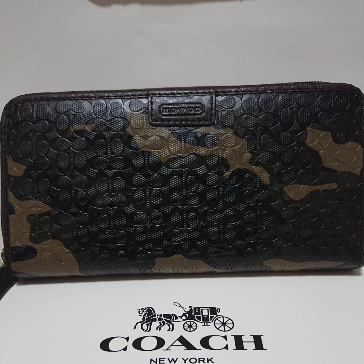 sports shoes cca33 b7c2a 代購代標第一品牌- 樂淘letao - COACH 迷彩柄カモフラージュ長 ...