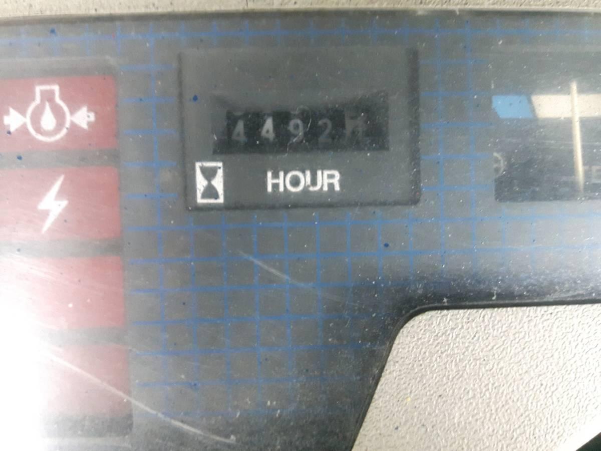 中古 小松1.4トン ガソリンフォークリフト FG14-15 オートマ車 即決¥350,000円_画像10
