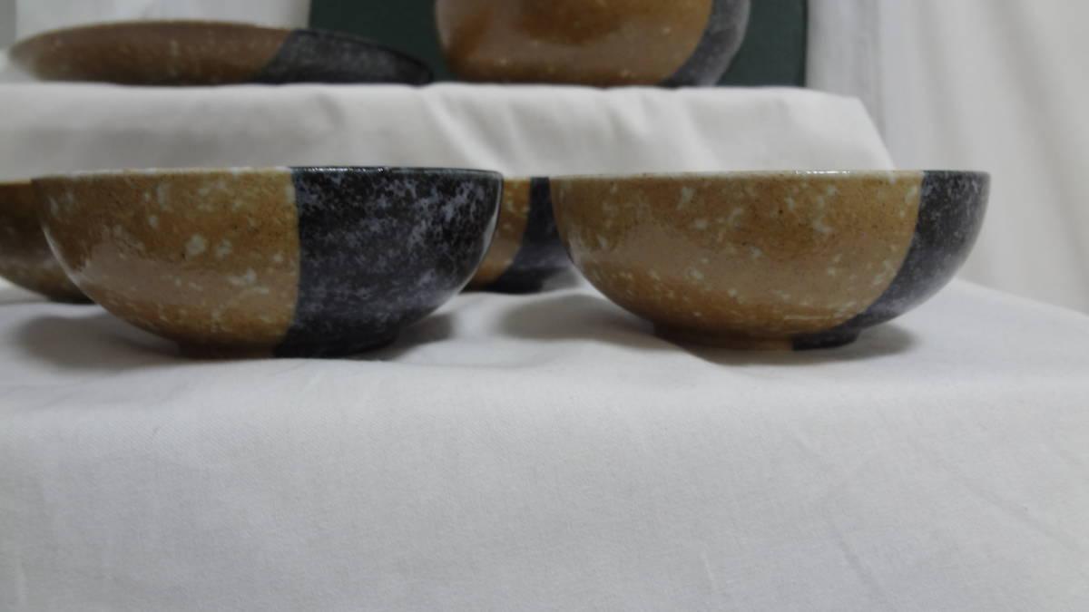 【うつわ工房】 奈良飛鳥 流彩 おもてなし揃 シャディ陶器 小鉢 大鉢 大皿 食器 3色柄 和風 陶器 未使用品 _画像3