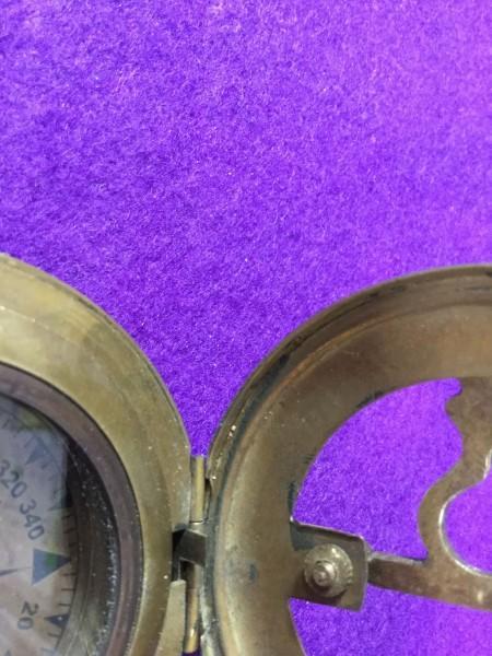 ykbd/1900618/l51/p60/Y/3★コンパス① 英国 アンティークコンパス スタンレー stanley 羅針盤 ケース付き 日時計_画像6