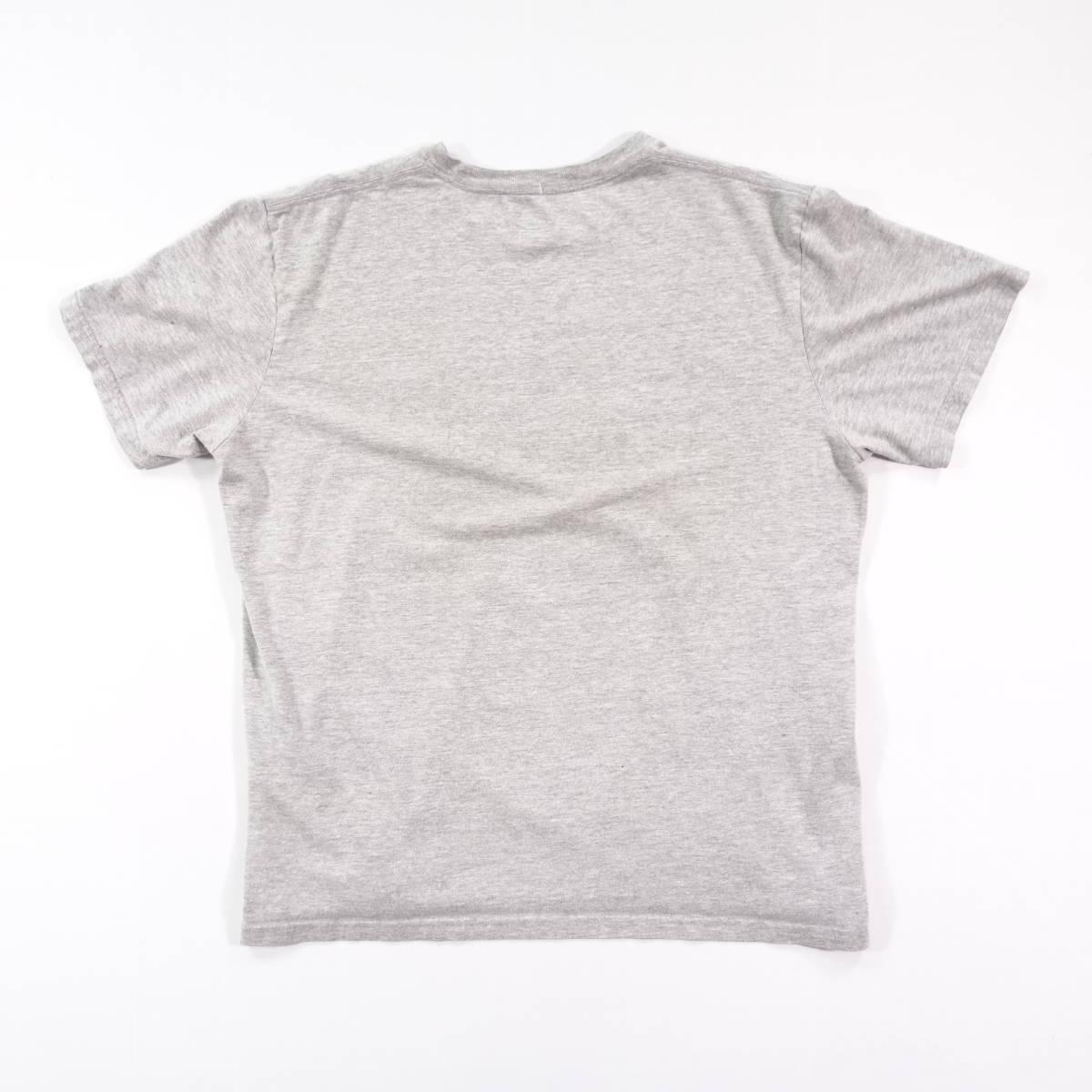 ノースフェイス Tシャツ 半袖 メンズ L 丸首 ハーフドーム プリントロゴ アウトドア トップス USA直輸入 古着 MNO-1-1-0209_画像8