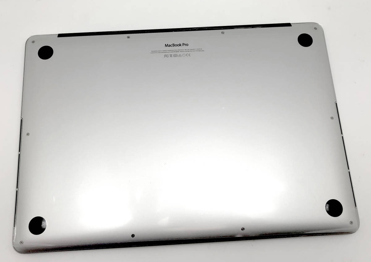 新品同様極上品 Apple Macbook Pro Retina 15 Mid2015 CTO i7 2.8GHz/16GB RAM/1TB AppleSSD/R9 M370X/ US_画像4
