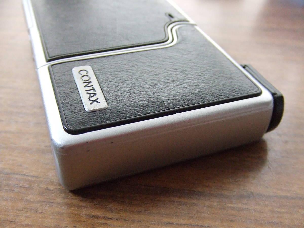 i571 CONTAX コンタックス U4R コンパクトデジタルカメラ Carl Zeiss Tessar 中古_画像10