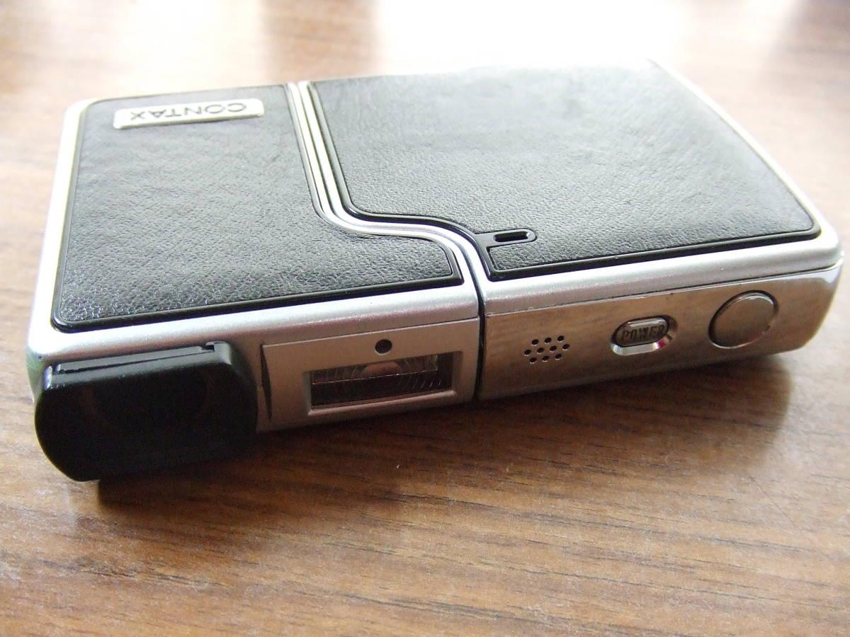 i571 CONTAX コンタックス U4R コンパクトデジタルカメラ Carl Zeiss Tessar 中古_画像5