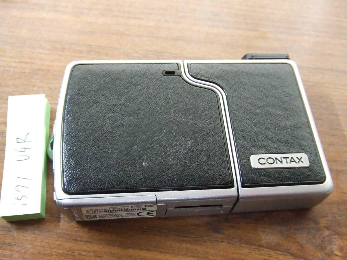 i571 CONTAX コンタックス U4R コンパクトデジタルカメラ Carl Zeiss Tessar 中古