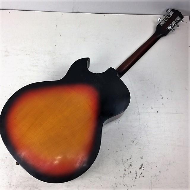 ジャパンビンテージ 1960年代◆Nardan ナルダン No.100 ピックギター◆フルアコ_画像4