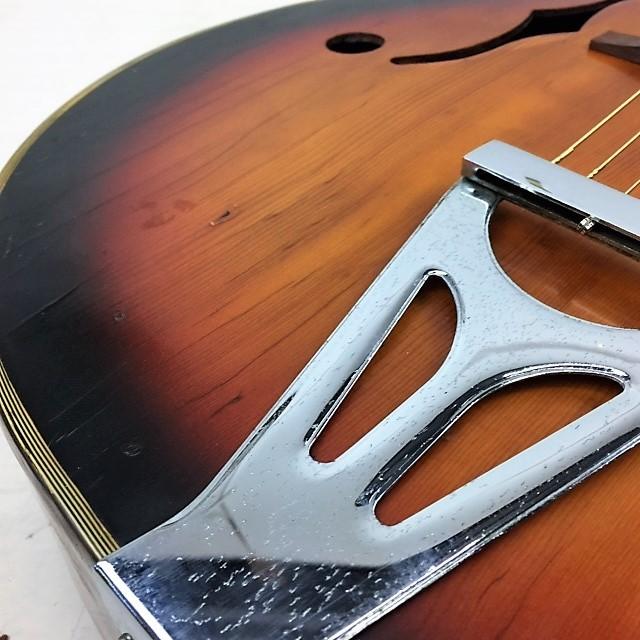 ジャパンビンテージ 1960年代◆Nardan ナルダン No.100 ピックギター◆フルアコ_画像2