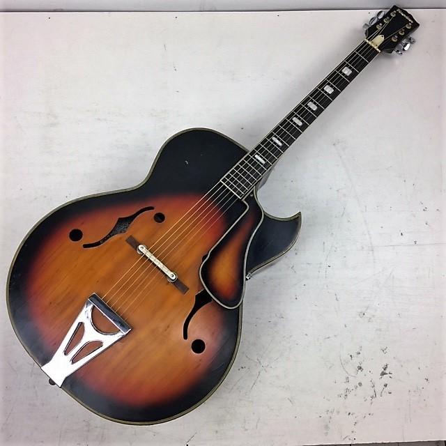 ジャパンビンテージ 1960年代◆Nardan ナルダン No.100 ピックギター◆フルアコ