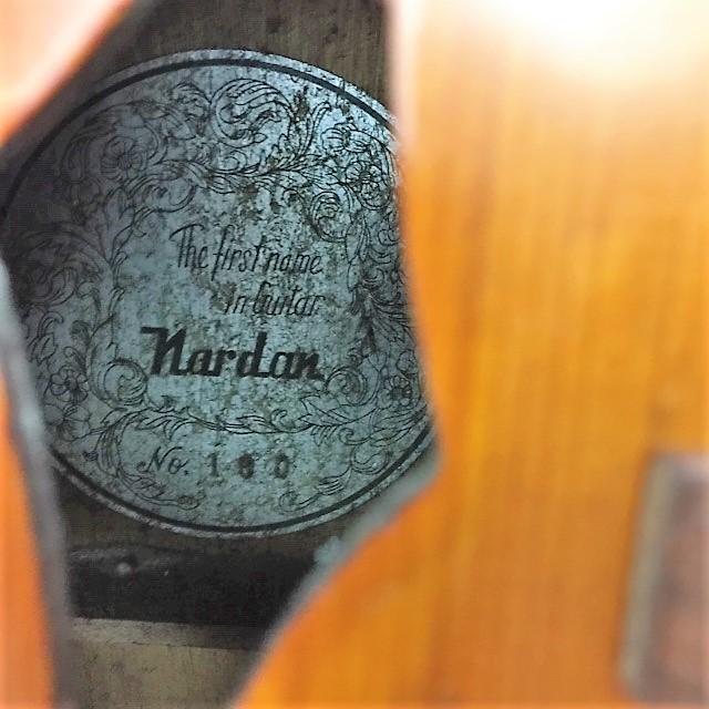 ジャパンビンテージ 1960年代◆Nardan ナルダン No.100 ピックギター◆フルアコ_画像3