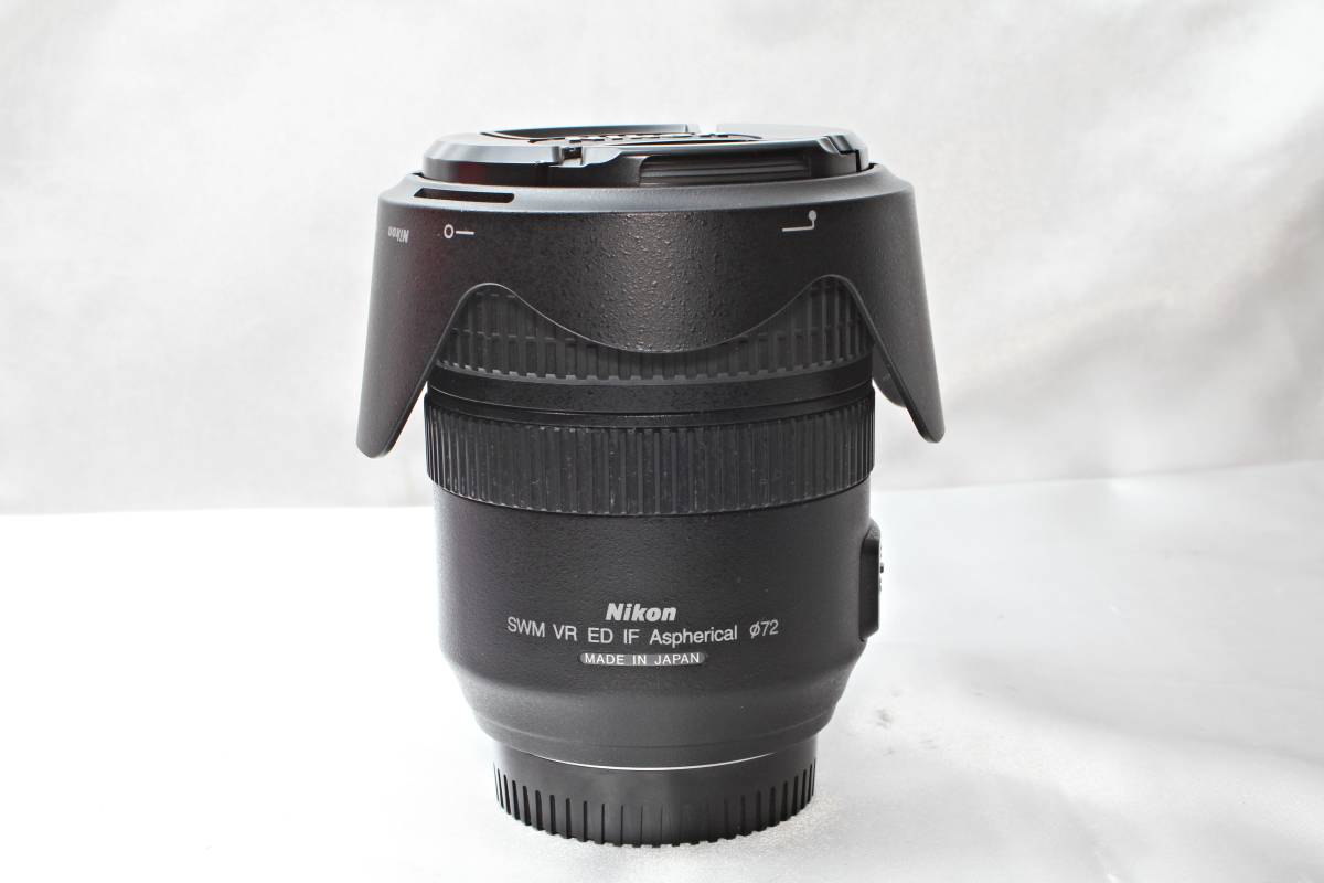 ★【極上美品】Nikon AF-S DX NIKKOR 24-120mm F3.5-5.6 G ED VR ★レンズクリアー ★物撮りから風景まで撮れる 旅先にこの一本_画像2