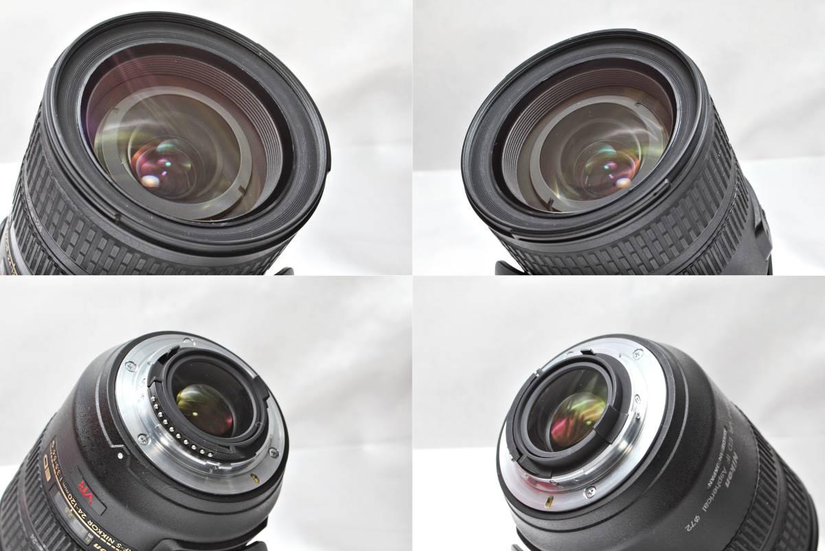 ★【極上美品】Nikon AF-S DX NIKKOR 24-120mm F3.5-5.6 G ED VR ★レンズクリアー ★物撮りから風景まで撮れる 旅先にこの一本_画像6