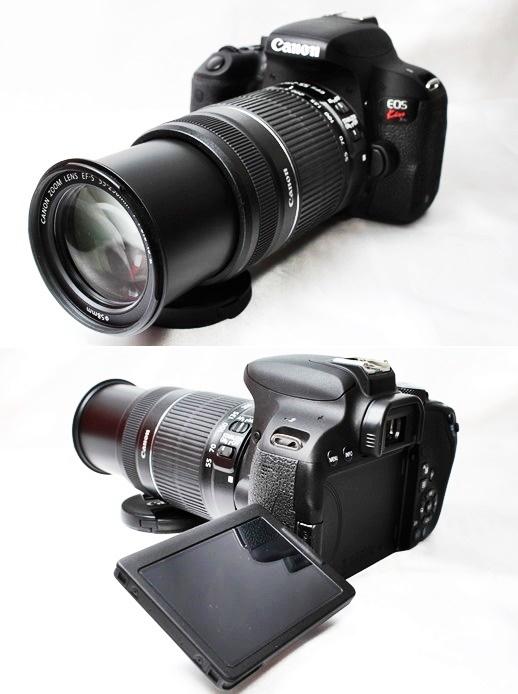 ★【新品級 トリプルレンズセット】Canon EOS Kiss X9i ★手ブレ防止×神レンズ×望遠 EF-S18-55mm STM EF-S55-250mm II EF50mm II _画像9