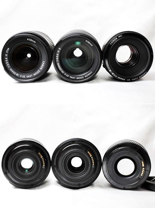 ★【新品級 トリプルレンズセット】Canon EOS Kiss X9i ★手ブレ防止×神レンズ×望遠 EF-S18-55mm STM EF-S55-250mm II EF50mm II _画像7