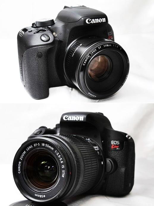 ★【新品級 トリプルレンズセット】Canon EOS Kiss X9i ★手ブレ防止×神レンズ×望遠 EF-S18-55mm STM EF-S55-250mm II EF50mm II _画像8