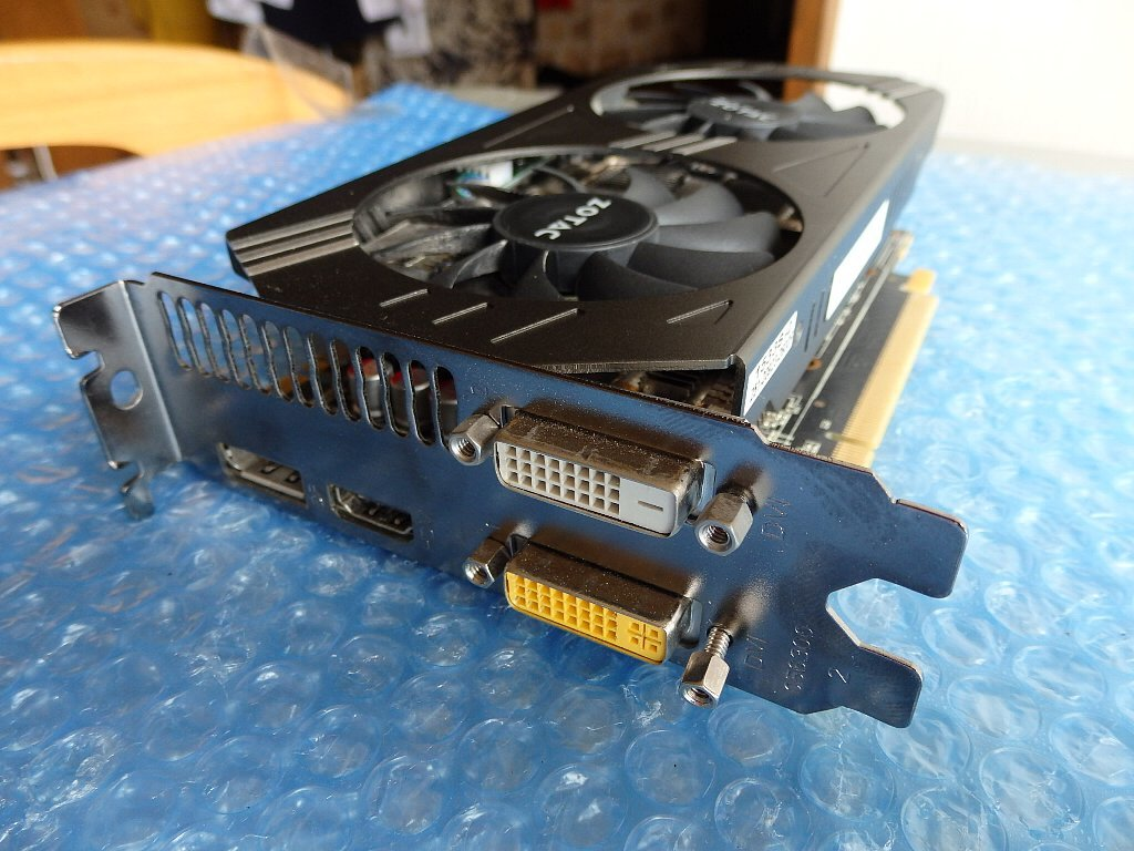★★ZOTAC-「Geforce GTX970」 4Gb/ GDDR5/256b/ジャンク品 ★★_画像2
