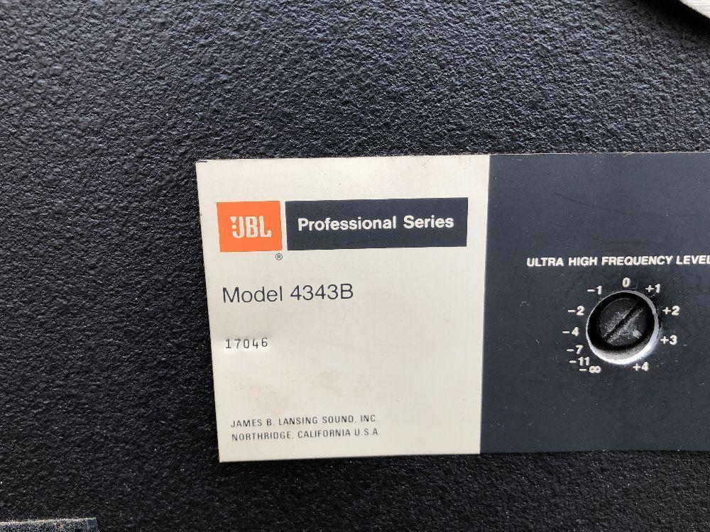 ■□ 名機 JBL 4343B Professional Series スタジオ モニター / スピーカー ペア オーディオ 音響 □■_画像4