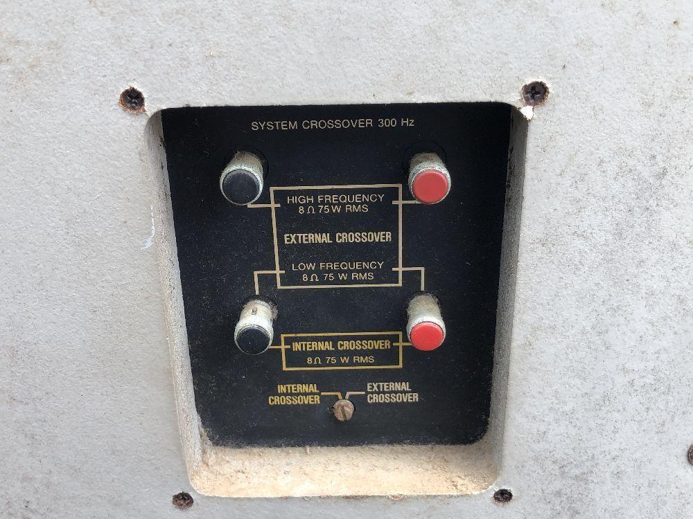 ■□ 名機 JBL 4343B Professional Series スタジオ モニター / スピーカー ペア オーディオ 音響 □■_画像9