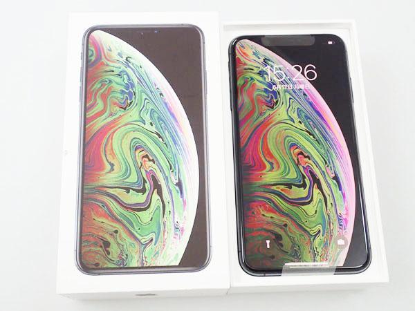 【新品未使用】国内版simフリー iPhone XS Max 512GB スペースグレイ MT6X2J/A(JFA376-1)