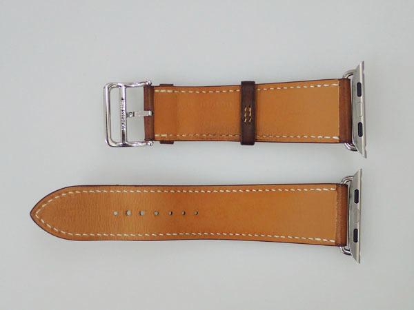 【中古】Apple Watch Hermes Series 4 GPS+Cellular 44mm シンプルトゥール MU762J/A ヴォーバレニア フォーヴ レザーストラップ(JFA598-2)_画像7