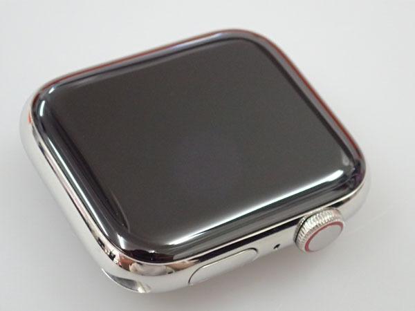 【中古】Apple Watch Hermes Series 4 GPS+Cellular 44mm シンプルトゥール MU762J/A ヴォーバレニア フォーヴ レザーストラップ(JFA598-2)_画像2