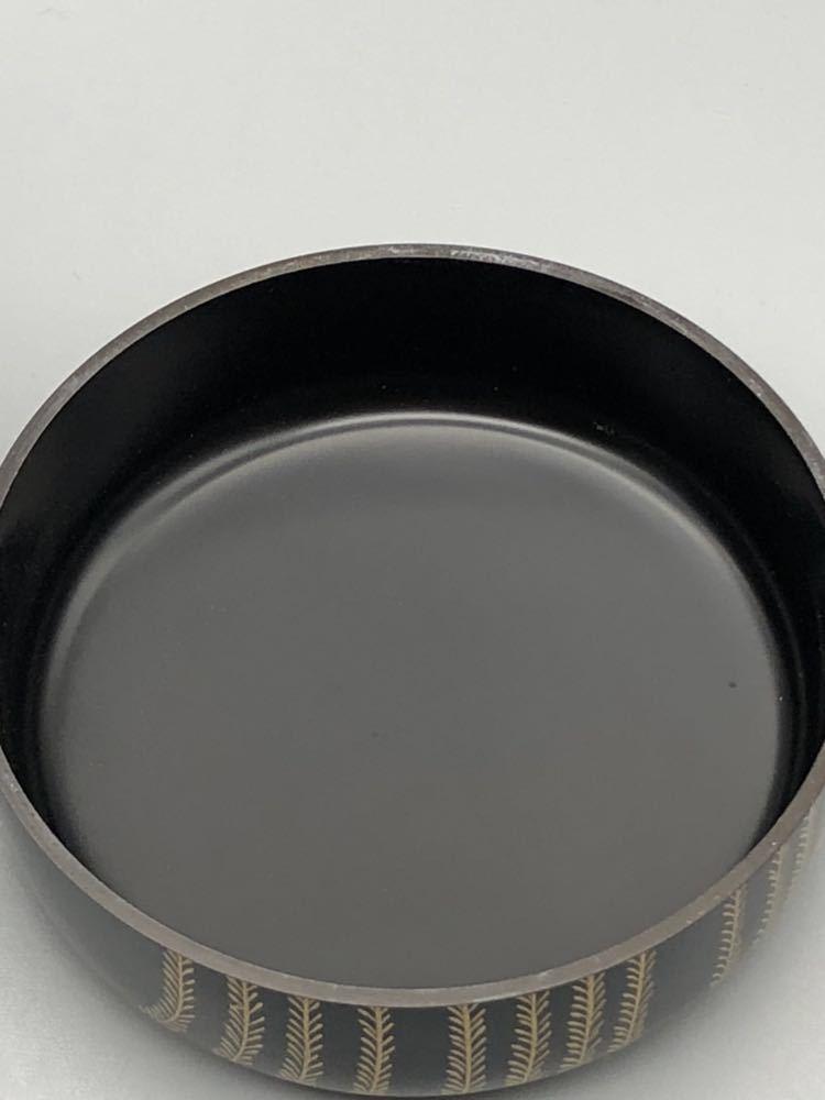 【悠】お茶道具 柳 山中 棗 共箱有り なつめ 煎茶道具 茶道具 御茶道具 _画像6