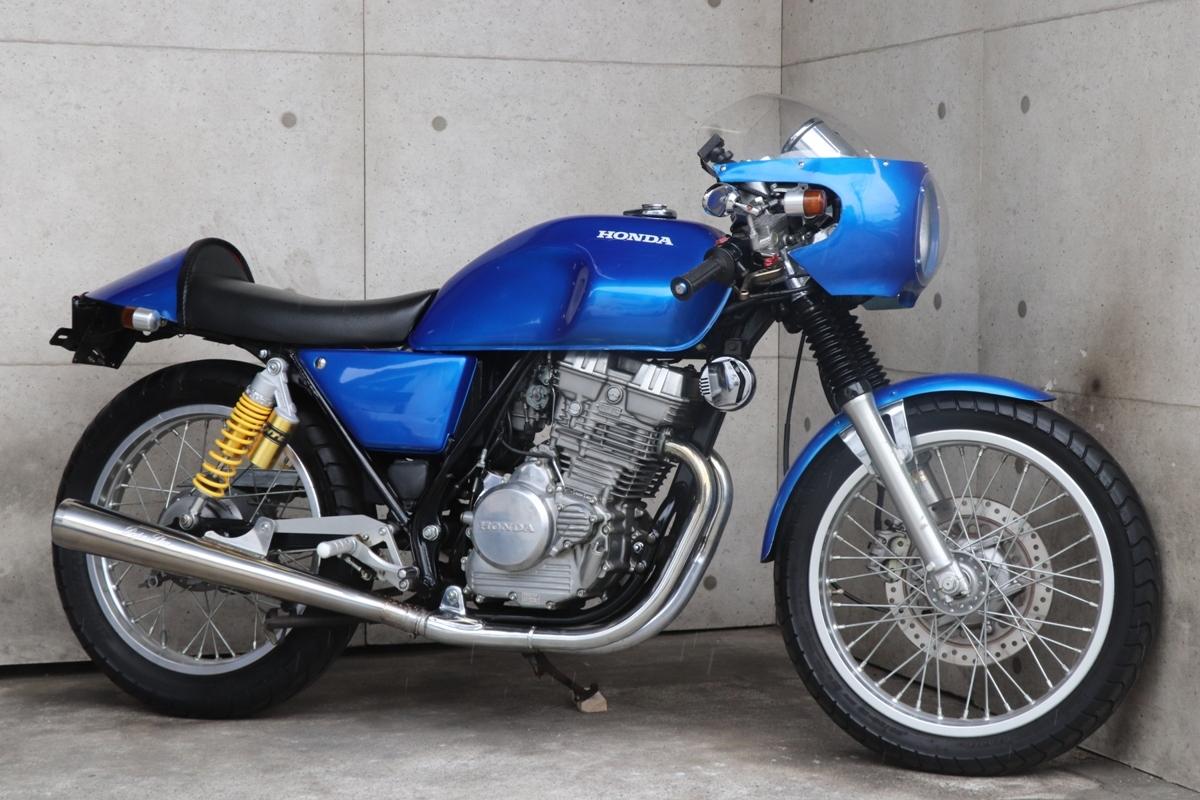 横浜~ HONDA GB250 クラブマン 1989モデル L型 旧車 カフェレーサー 綺麗 好調