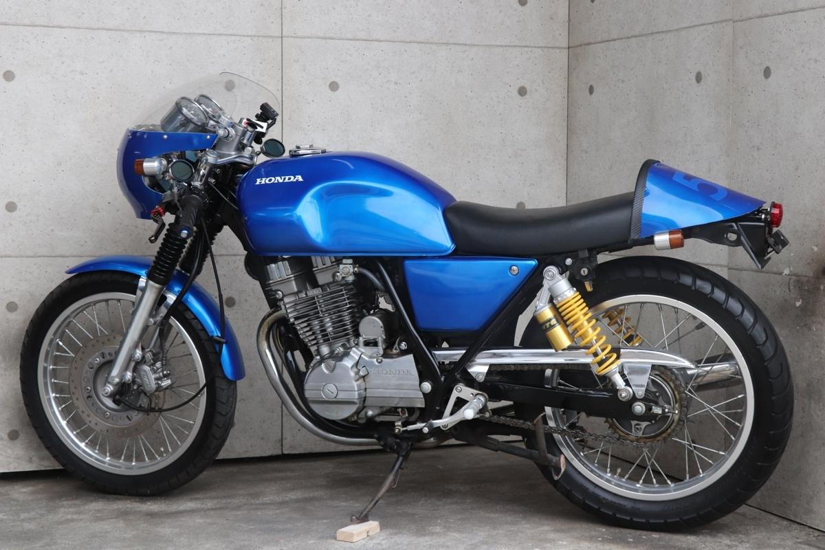 横浜~ HONDA GB250 クラブマン 1989モデル L型 旧車 カフェレーサー 綺麗 好調_画像2