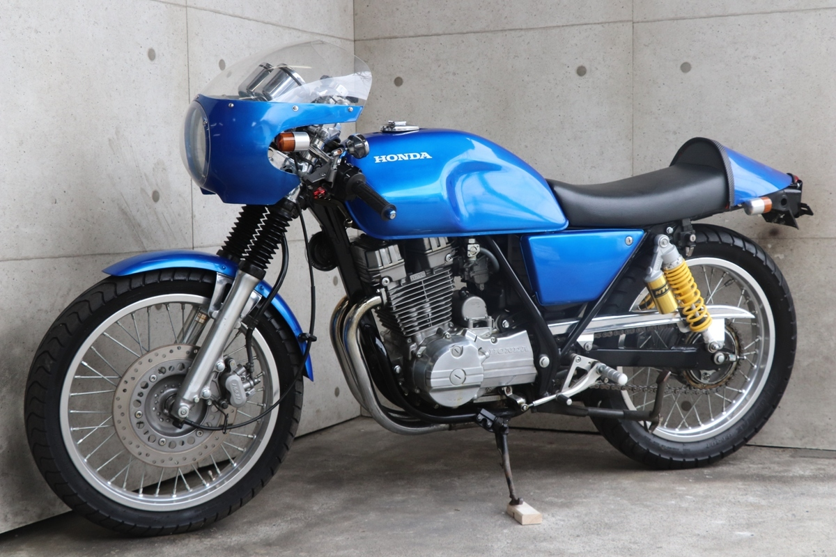 横浜~ HONDA GB250 クラブマン 1989モデル L型 旧車 カフェレーサー 綺麗 好調_画像3