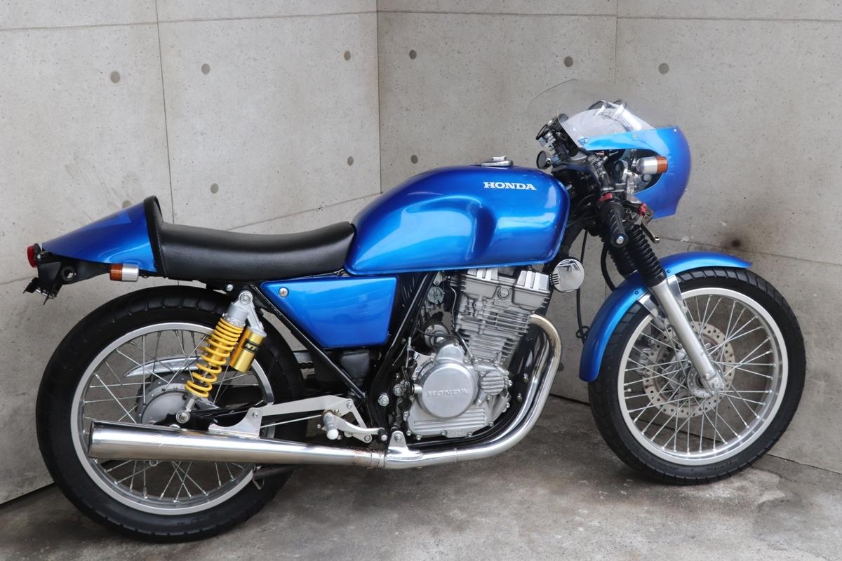 横浜~ HONDA GB250 クラブマン 1989モデル L型 旧車 カフェレーサー 綺麗 好調_画像10