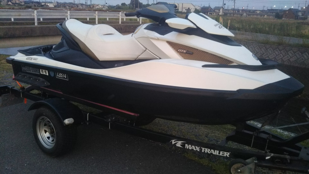 2011 SEA-DOO GTX IS260サスペンション付!岐阜県出品!