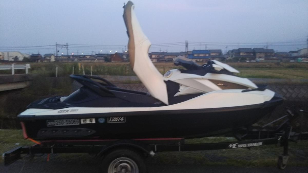 2011 SEA-DOO GTX IS260サスペンション付!岐阜県出品! _画像2