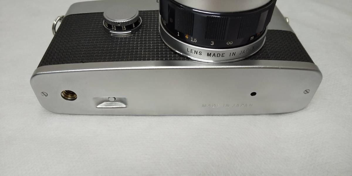 OLYMPUS PEN-F+Zuiko Auto-S 38mmF1.8 ハーフサイズ一眼レフカメラ【ジャンク】_画像4
