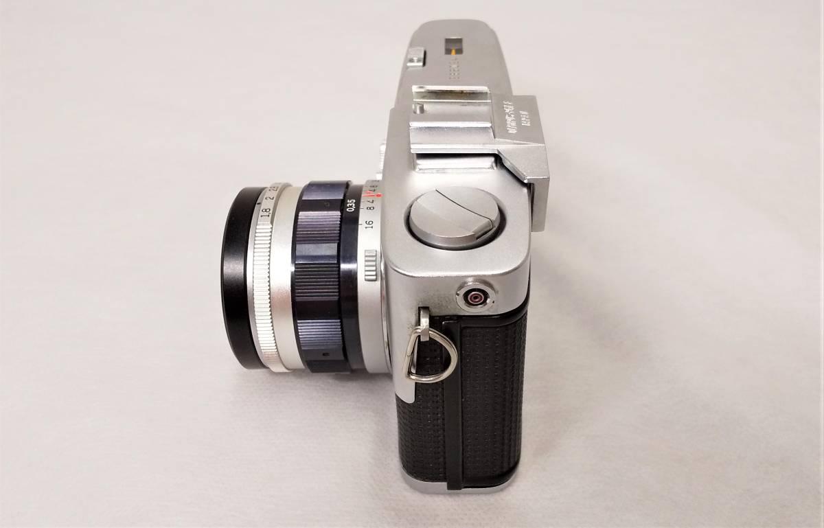 OLYMPUS PEN-F+Zuiko Auto-S 38mmF1.8 ハーフサイズ一眼レフカメラ【ジャンク】_画像3