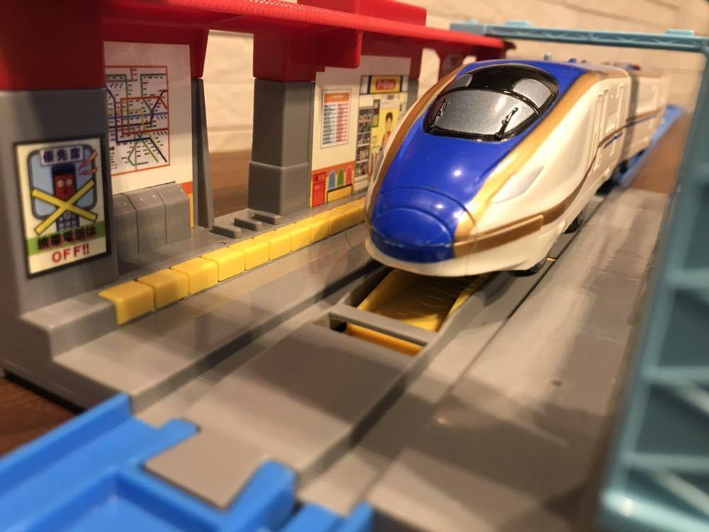 プラレール E7系新幹線かがやき _画像5