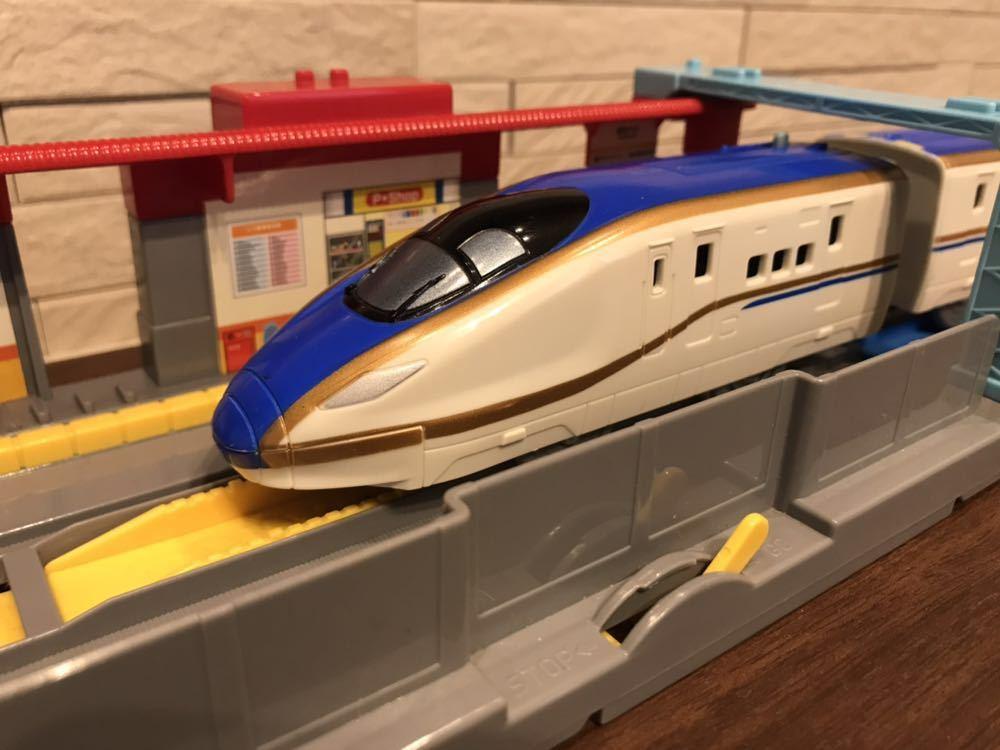 プラレール E7系新幹線かがやき _画像3