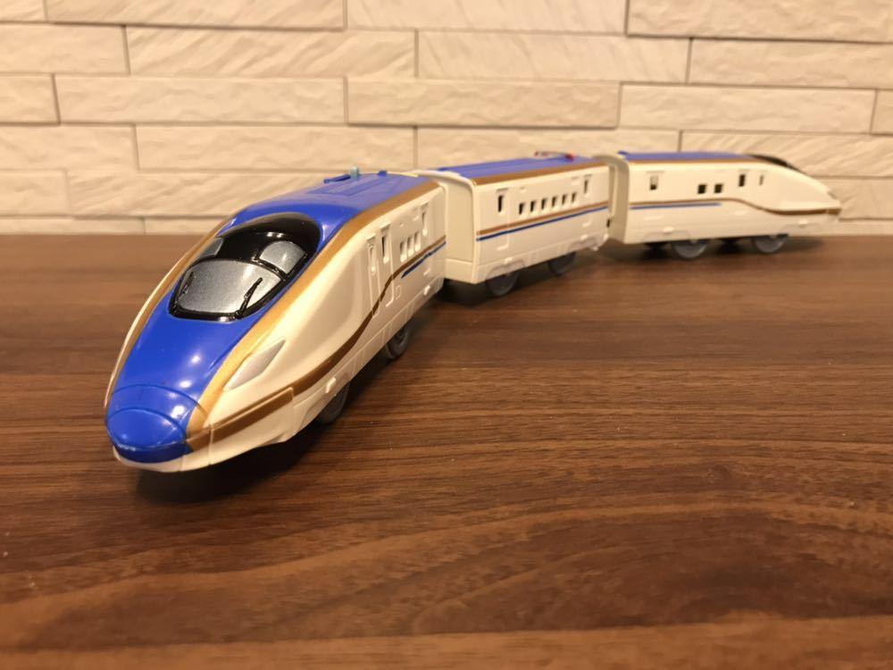 プラレール E7系新幹線かがやき _画像2