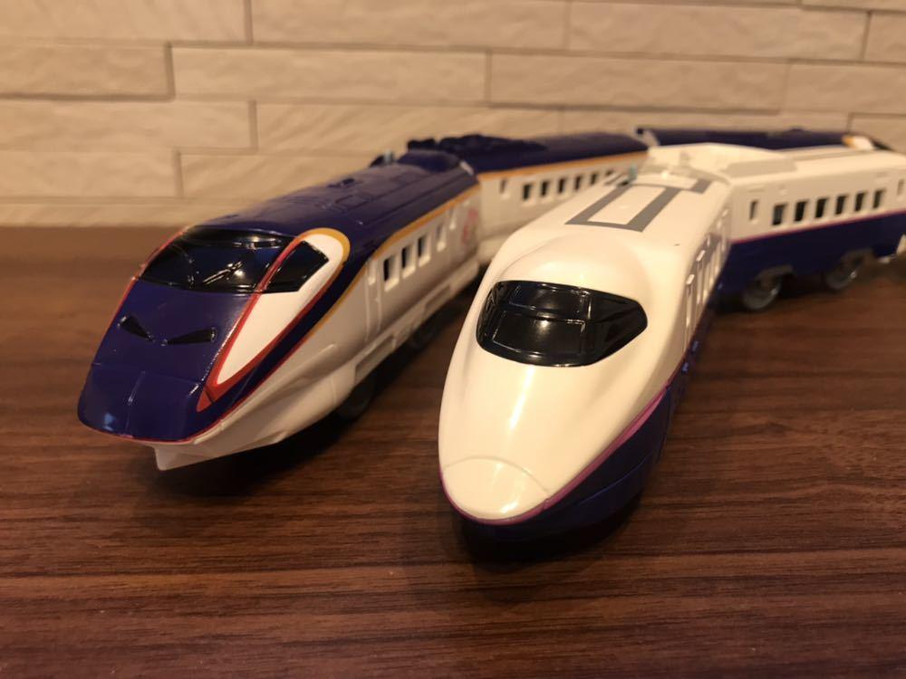 プラレール E3系新幹線つばさ&E2系新幹線 連結セット