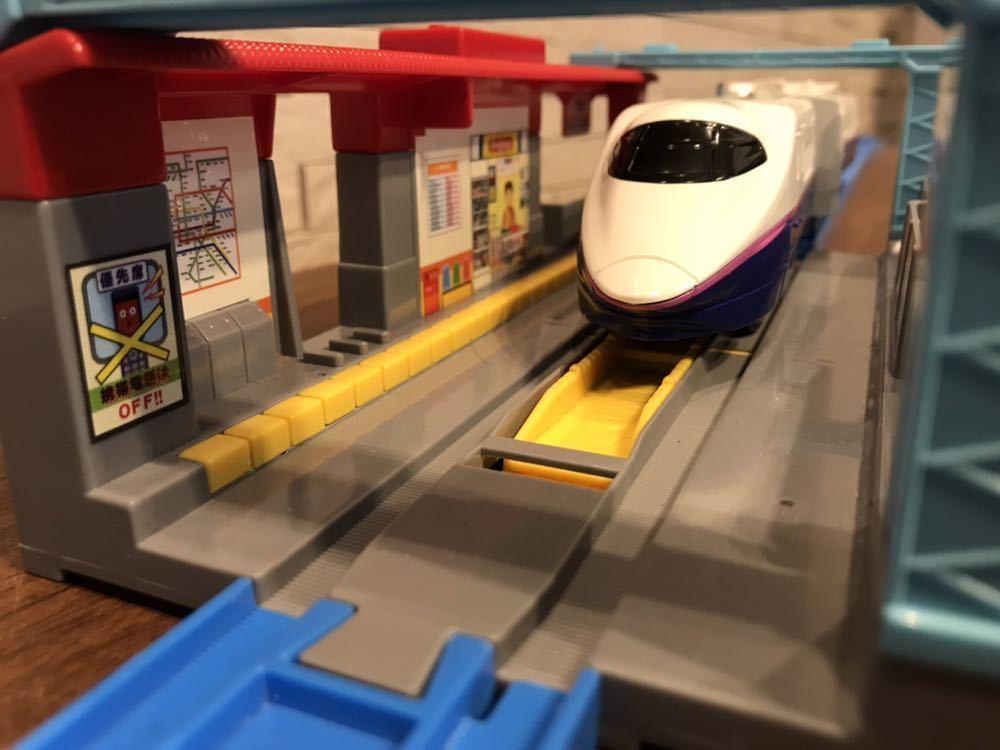 プラレール E3系新幹線つばさ&E2系新幹線 連結セット_画像8