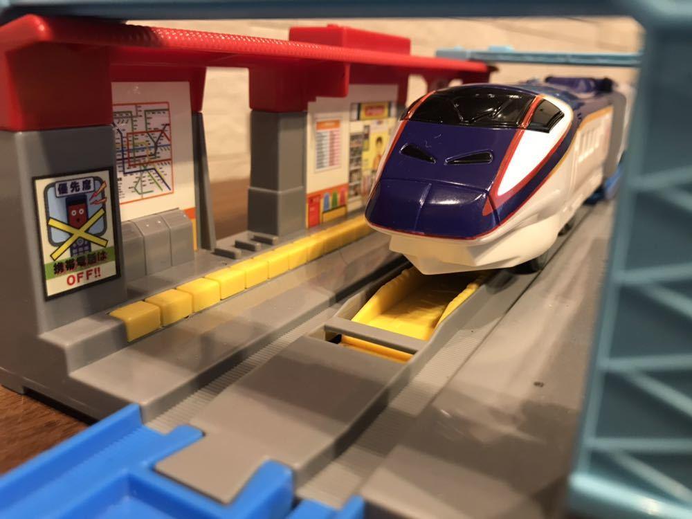 プラレール E3系新幹線つばさ&E2系新幹線 連結セット_画像6
