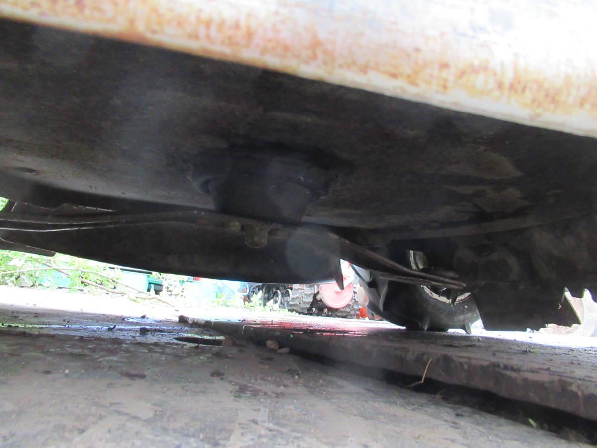 乗用草刈機 オーレック ロータリーモア RM950 18馬力 実動品 長野市_画像7