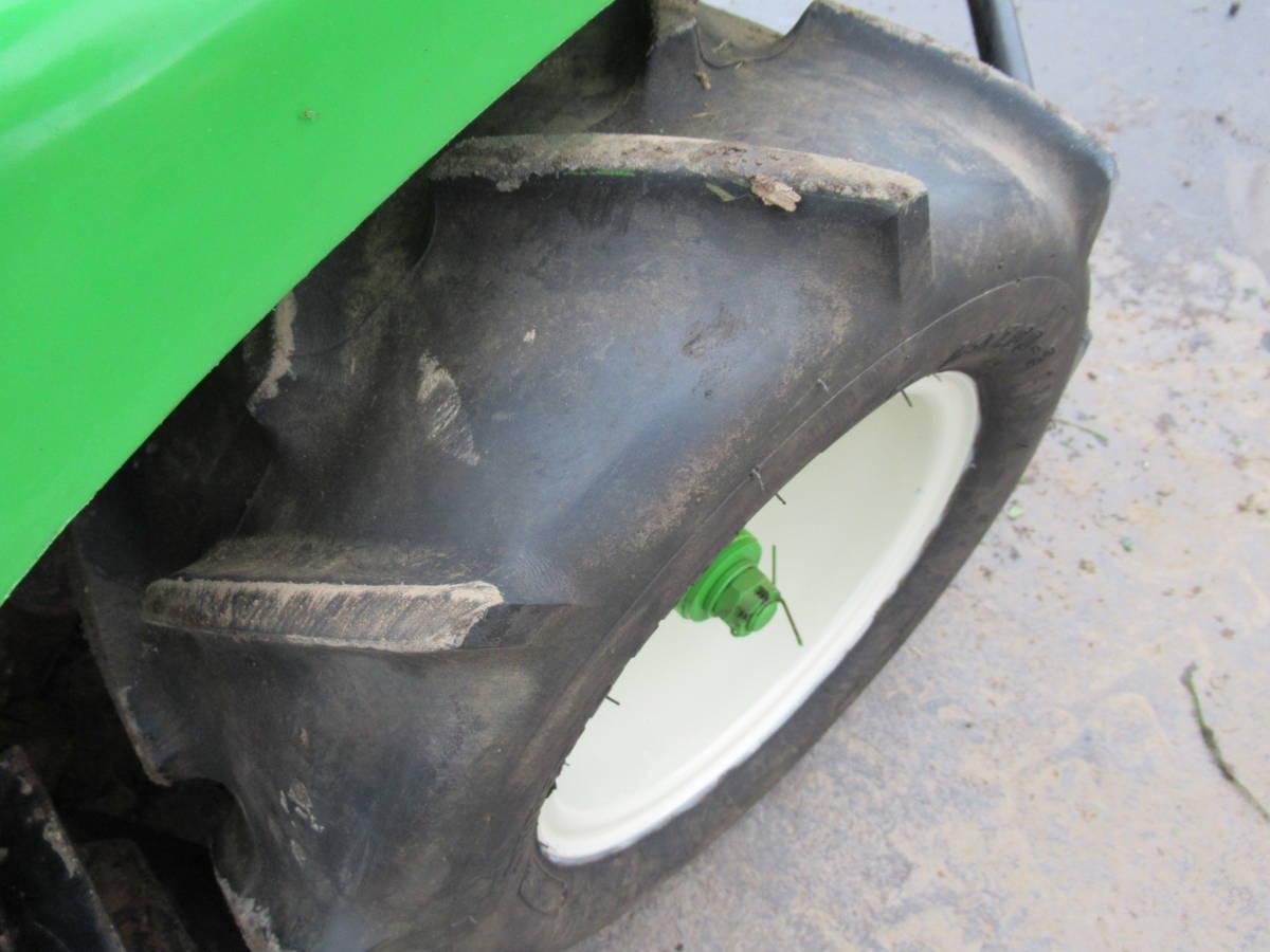 乗用草刈機 オーレック ロータリーモア RM950 18馬力 実動品 長野市_画像8