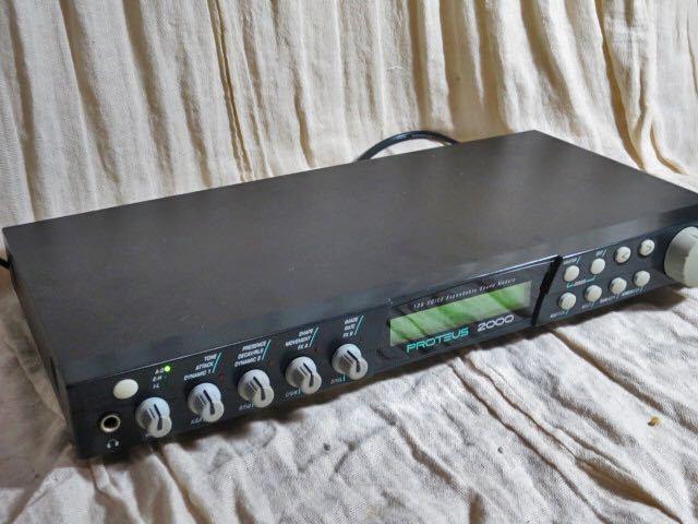 E-MU midi音源モジュール PROTEUS 2000 動作品 PCM音源の名機 プロテウス サウンドモジュール_画像4