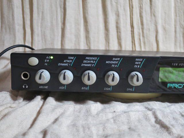 E-MU midi音源モジュール PROTEUS 2000 動作品 PCM音源の名機 プロテウス サウンドモジュール_画像5